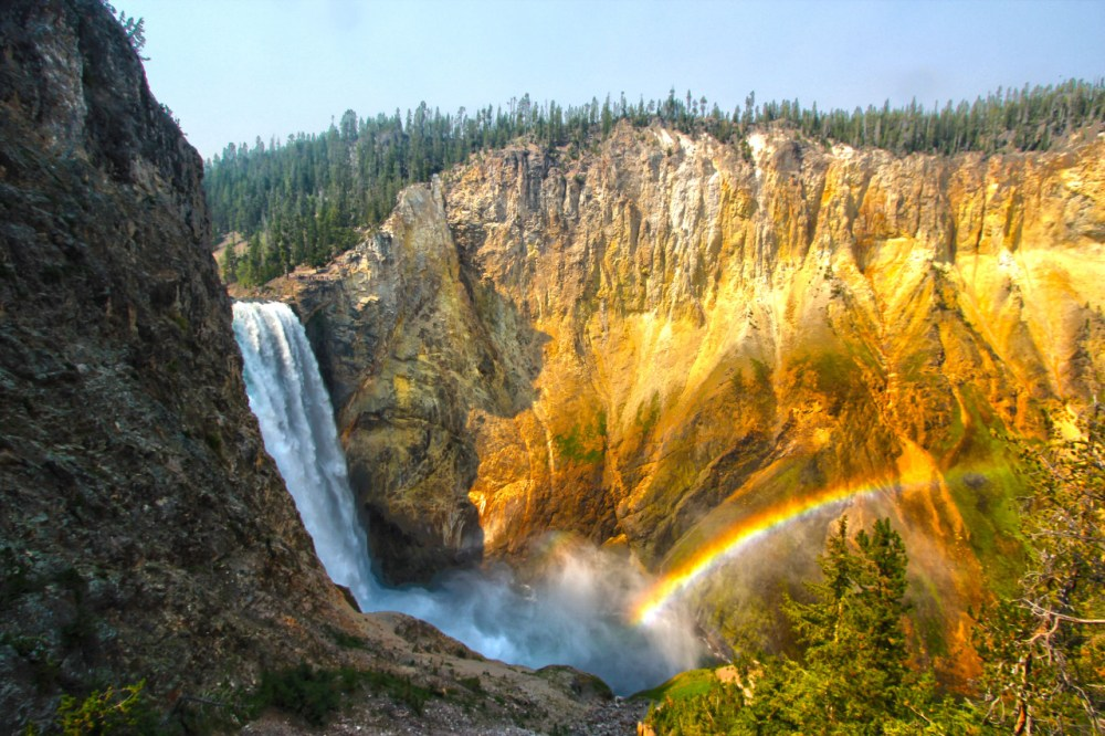 Happy 99th birthday to National Park Service – America's best idea! On this day in 1916, the National Park Service was created to care for the country's special places. Pictured here is Lower Falls at Yellowstone National Park, our first national park. Photo by Kallem Phillips. Posted on Tumblr by the US Department of the Interior, 8/25/15.