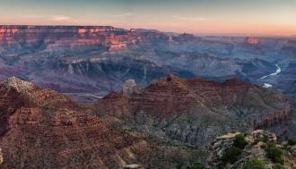 Sunrise over Grand Canyon National Park in Arizona is definitely worth getting up early to see. Steven Hirsch captured this incredible photo from Navajo Point – the highest overlook on the park's South Rim. Just a few minutes west of the Desert View Watchtower, this viewpoint offers panoramic vistas to the west and a view north up the Colorado River. Photo courtesy of Steven Hirsch. Tweeted by the US Department of the Interior, 10/4/15.