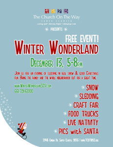 Winter Wonderland Paper Flyer 2015