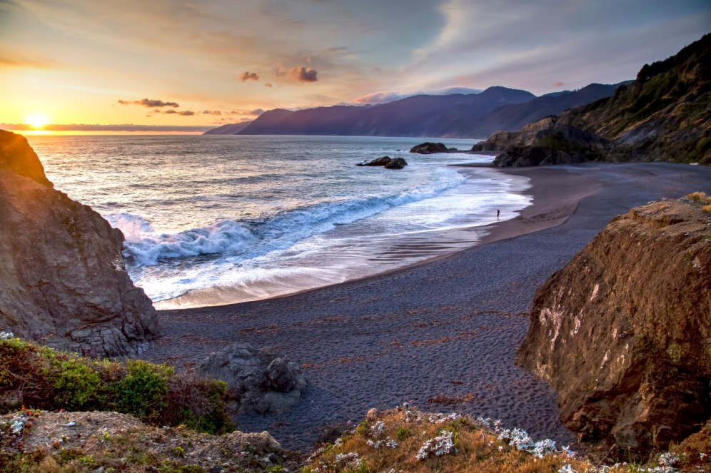 Established in 2000, California Coastal National Monument includes public lands along the coast of California and in the near shore waters of the Pacific Ocean. Providing unique coastal habitat for marine-dependent wildlife and vegetation on more than 20,000 rocks, islands, exposed reefs and pinnacles, it also offers gorgeous natural beauty to all its visitors. Photo by Bob Wick. Posted on Tumblr by the US Department of the Interior, 1/11/16.