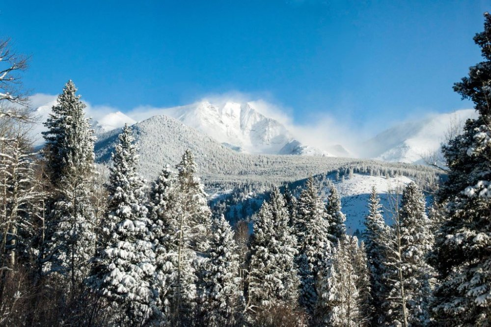 Rocky Mountain National Park. Tweeted by the US Department of the Interior, 1/21/16.