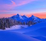 Mount Rainier NP 39 – Sunset