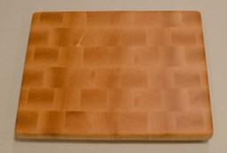 """Small Board 16 - 005. Hard Maple. End grain. 10"""" x 12"""" x 15/16""""."""