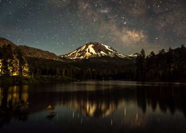 California's Lassen National Park. Photo by Abhilash Itharaju. Tweeted by the US Department of the Interior, 3/16/16.