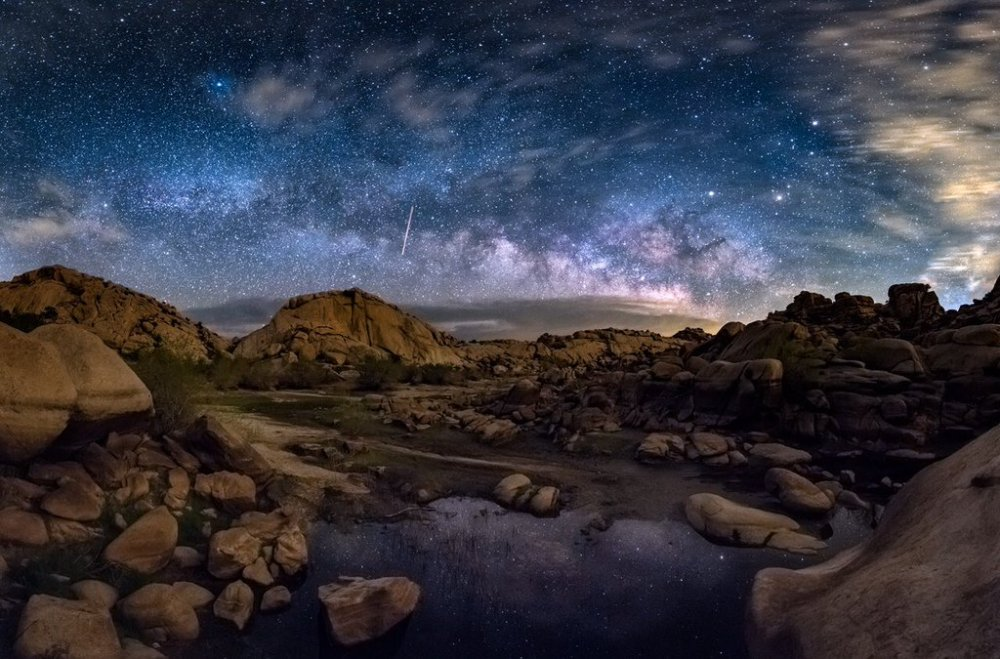 JoshuaTreeNPS offers some unbelievably amazing stargazing. Photo: Evan Kokoska. Tweeted by the US Department of the Interior, April 8, 2016.