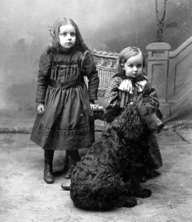 Edna Mildred Lee Boring and Cecil Alban Boring, circa 1899. Still not the chair!