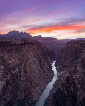 Some views are worth waking up for. Arizona's Grand Canyon National Park at Sunrise. Photo by Tiffany Nguyen. Tweeted by the US Department of the Interior, 8/3/16.