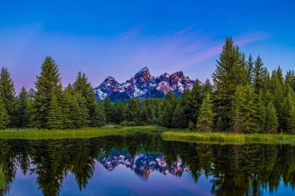Schwabacher's Landing at Grand Teton National Park. Photo by Josh Packer. Tweeted by the US Department of the Interior, 8/4/16.