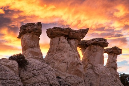 Beyond its spectacular natural beauty, Grand Staircase-Escalante National Monument in Utah offers 1.9 million acres of cliffs, terraces, trails and views for your needed nature fix. Established in 1996, the monument is an adventurer's dream and a fantastic scientific resource for geologists, paleontologists, archaeologists and biologists. Photo by Bob Wick, Bureau of Land Management. Posted on Tumblr by the US Department of the Interior, 9/18/16.