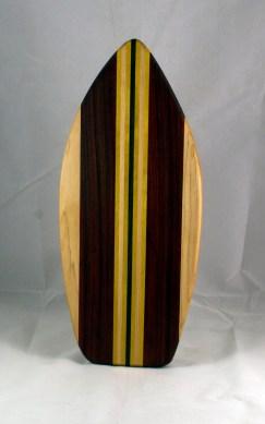 Medium Surfboard 16 - 09. Hard Maple, Jatoba, Yellowheart & Black Walnut.