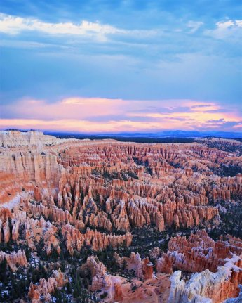 Bryce Canyon National Park has the world's largest collection of hoodoos. Here is a fabulous view at sunrise. Photo by Jennifer Fast. Tweeted by the US Department of the Interior, 1/26/17.