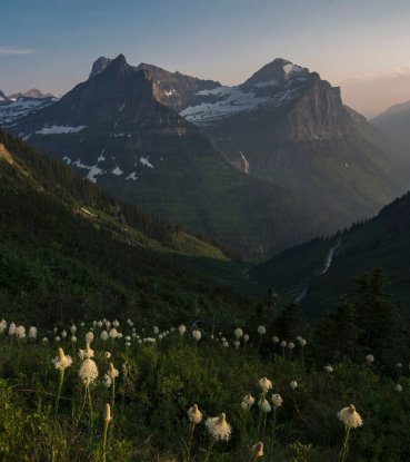Montana's Glacier National Park. Tweeted by the US Department of the Interior, 3/2/17.