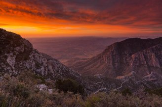 The gorgeous Guadalupe Mountains National Monument. Photo by Andrew Slaton. Tweeted by the US Department of the Interior, 7/10/17.
