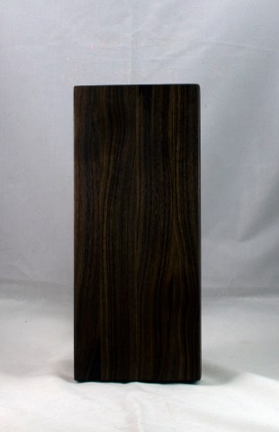 "Serving Piece 17 - 804. Black Walnut. 14"" x 6"" x 1-1/8""."