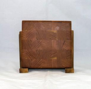 "Small Board 17 - 227. Really small. Cherry. End grain. 7"" x 7"" x 1""."
