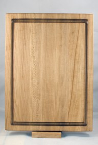 "Cutting Board 17 - 136. Hard Maple. 12"" x 16"" x 1-1/8""."