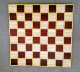 Chess 17 - 307. Ash, Padauk & Yellowheart.