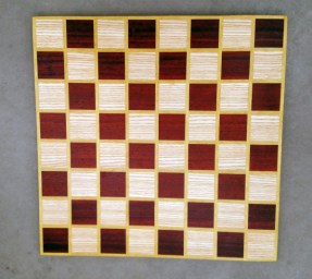 Chess 17 - 307. Ash, Padauk & Yellowheart.