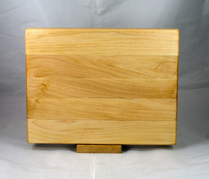 "Cutting Board 17 - 143. Hard Maple. 12"" x 16"" x 1-1/4""."