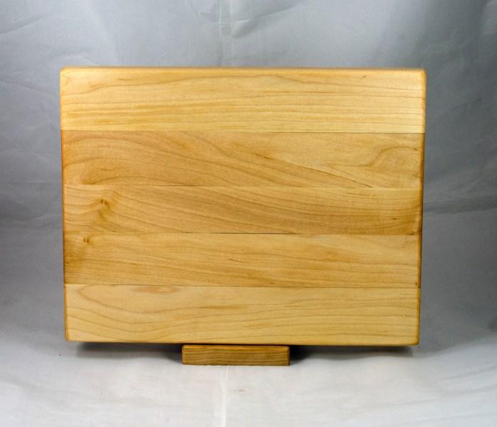 "Cutting Board 17 - 143. Hard Maple. 12"" x 16"" x 1-1/4""."