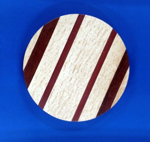 Lazy Susan 18 - 04. Birds Eye Maple & Bloodwood.