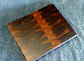 """Small Board 18 - 202. Black Walnut. Edge Grain. 9"""" x 11"""" x 1""""."""