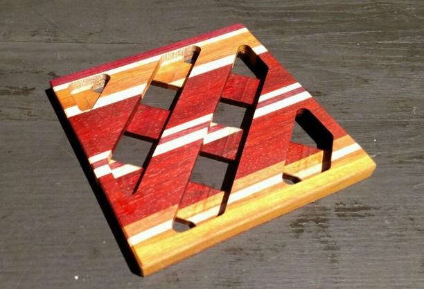"""Trivet 18 - 709. 8.5"""" square."""