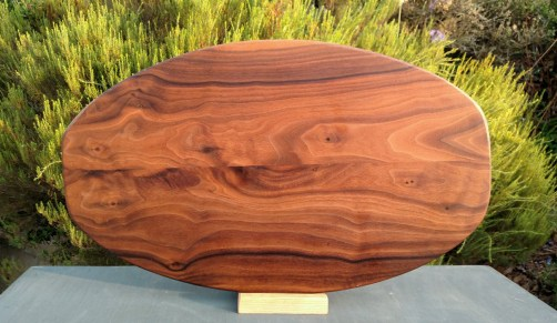 Large Serving Piece 18 - 19. There's nothing like ... Black Walnut.