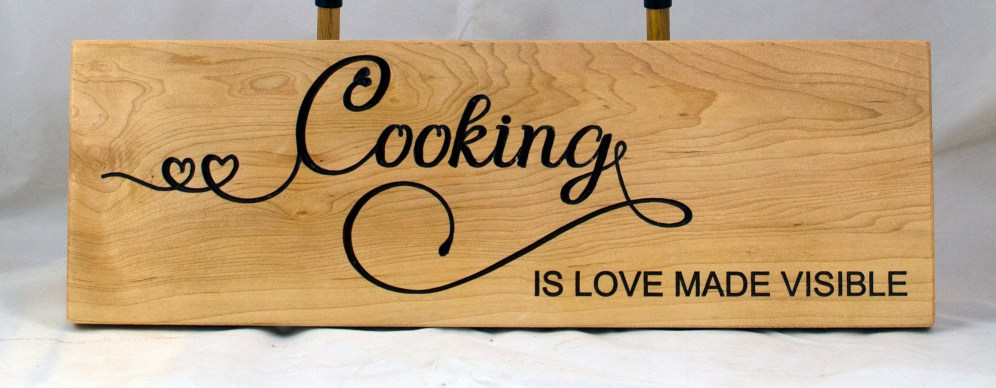 CNC Sign 18 - 99 Cooking