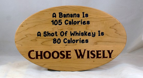 CNC Sign 18 - 121 A Banana Is