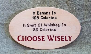 CNC Sign 18 - 91 A Banana