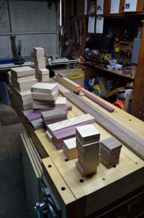 The blocks begin to pile up.
