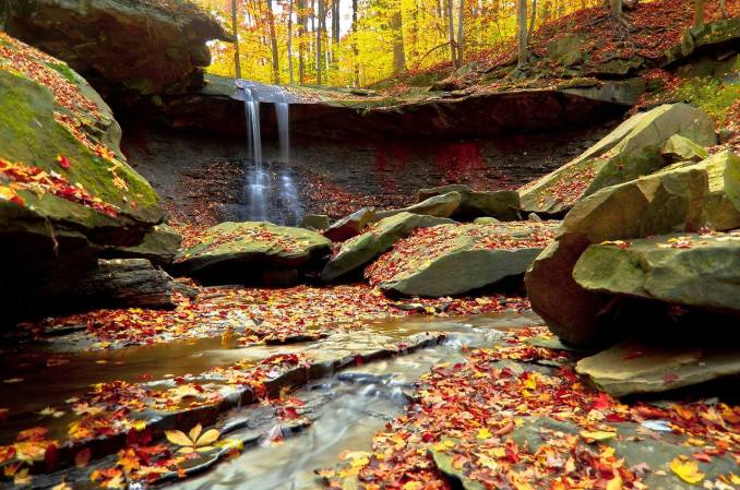 Autumn in the Park. Photo by Bob Fiala. Tweeted by the US Department of the Interior, 10/21/13.