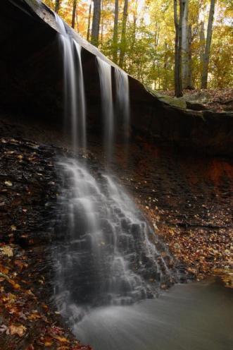 Blue Hen Falls. From the Park's website.