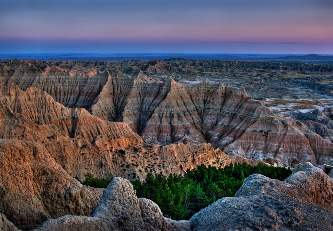 South Dakota's Badlands National Park. Photo by Jay Wanta. Posted on Tumblr by the US Department of the Interior, 4/2/15.