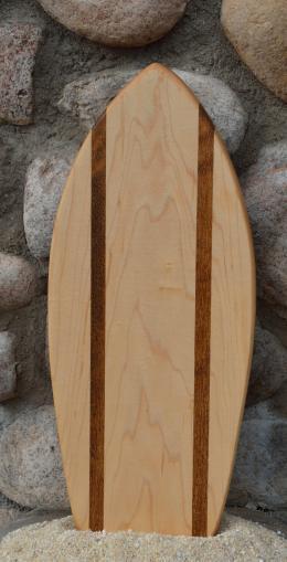 Small Surfboard # 15 - 10. Hard Maple & Teak.
