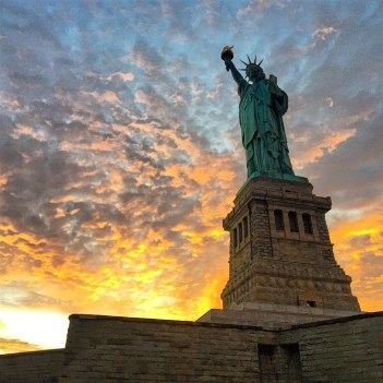 Statue of Liberty. Posted on Tumblr by the US Department of the Interior, 10/28/15.