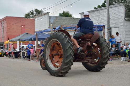Graham Street Fair Parade 83