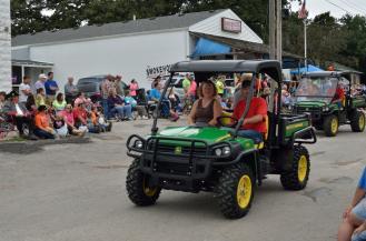 Graham Street Fair Parade 98