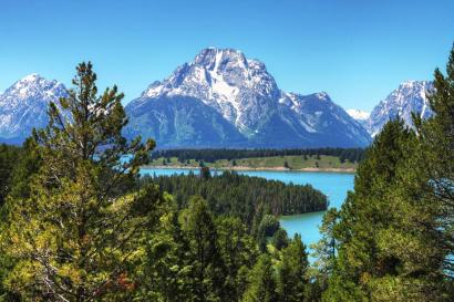 Wyoming's Grand Teton National Park. Posted on Twitter by the US Department of the Interior, 8/30/15.