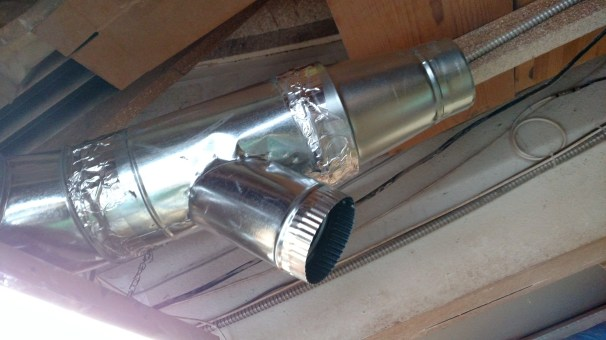 Every galvanized joint was caulked, screwed & taped.