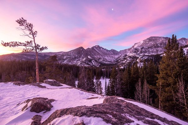 Sunrise hikes have a special reward in Rocky Mountains National Park. Photo by Mike Kvackay. Tweeted by the US Department of the Interior, 3/10/16.