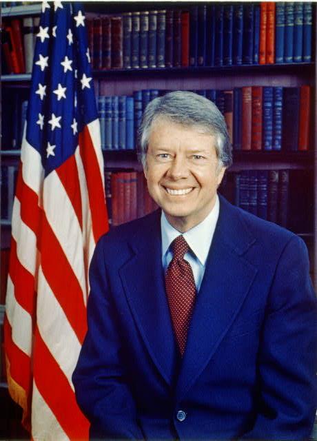 President Carter - Flag
