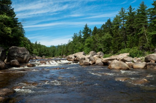On August 24, 2016, President Obama designated Katahdin Woods and Waters National Monument – our nation's newest national monument and the 413th site in the national park system. Katahdin Woods and Waters National Monument will permanently protect north-central Maine's awe-inspiring mountains, forests and waters for current and future generations. The approximately 87,500 acres that make up the new national monument is rich in biodiversity and known for its outstanding opportunities to hike, canoe, hunt, fish, snowmobile, snowshoe and cross-country ski. Photo by Scott Miller. Tweeted by the US Department of the Interior, 8/24/16.