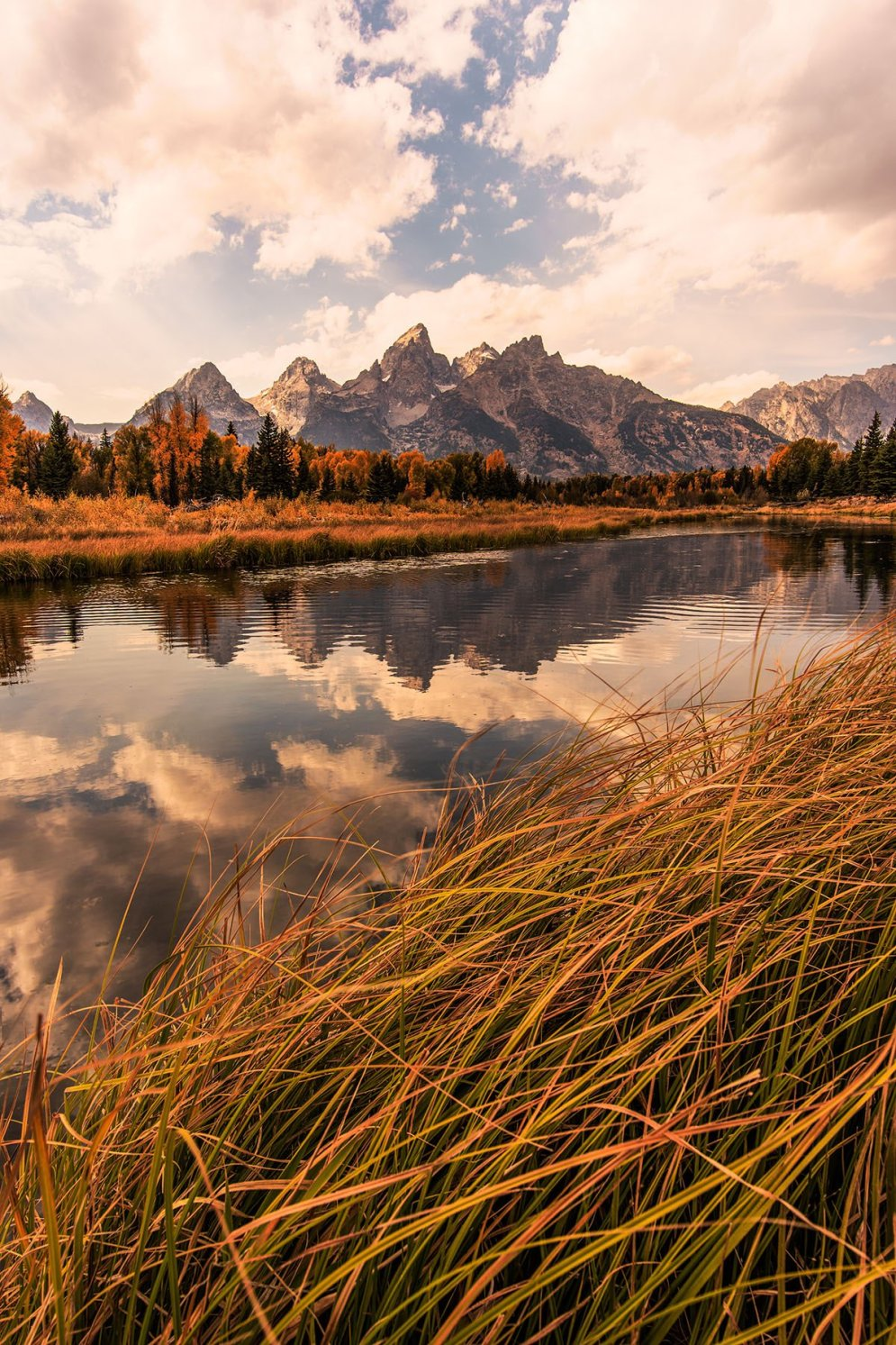 Wyoming's Grand Teton National Park. Photo by Josh Packer. Tweeted by the US Department of the Interior, 10/13/16.