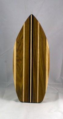 Medium Surfboard 16 - 11. Canarywood, Hard Maple & Purpleheart.