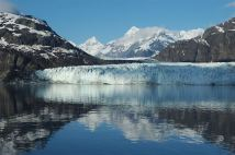 Alaska's Glacier Bay is a living laboratory, a designated wilderness, a biosphere reserve and a world heritage site. It's a marine park, where great adventure awaits by boating into inlets, coves and close to its dynamic, namesake glacier. It's also a land park, with its snow-capped mountains, spectacular glaciers and vast forests. Photo by National Park Service. Posted on Tumblr by the US Department of the Interior, 4/10/17.