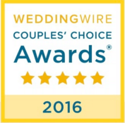 Los Angeles Wedding PLanner Moxie Bright Events is the winner of WeddingWire's Couples Choice Award 2016. Couples Choice Award badge 2016.