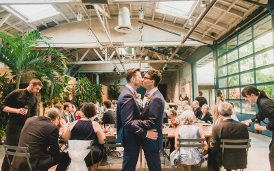Creative & Stylish Millwick Wedding | John & Stefan