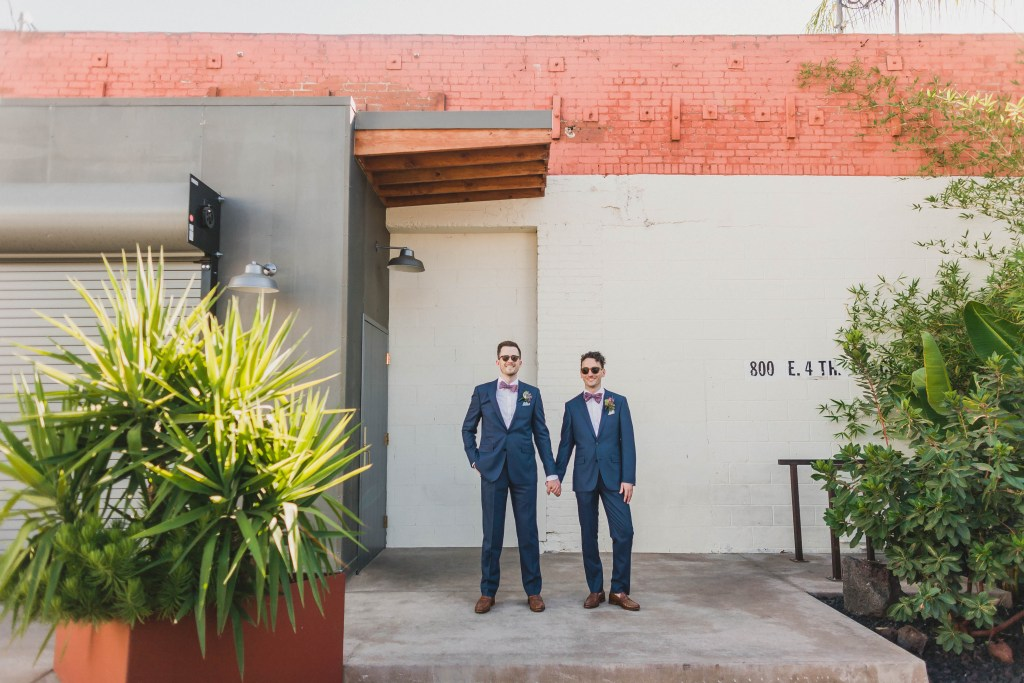 Same sex DTLA wedding, Millwick wedding venue, Moxie Bright Events, Year in Review 2016